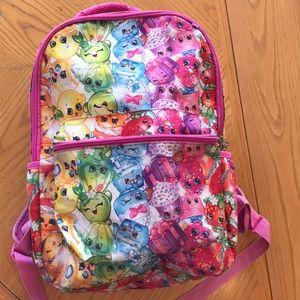 Shopkins Backpack Bookbag character large